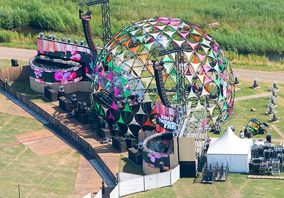 Dome stage - Example dome 4