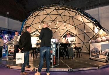 Dome als podium - Voorbeeld dome 2