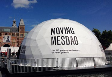 Dome covers - Voorbeeld dome 3