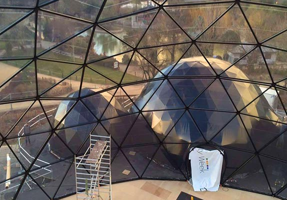 Dome covers - Voorbeeld dome 4