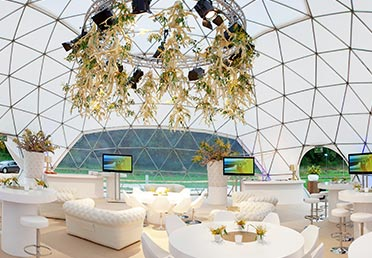 Geodesic dome rental - project 3