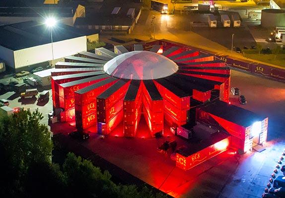 Dome tent kopen - Voorbeeld Dome 5