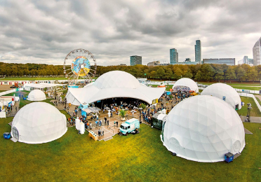 Domes Europe - Dome tent opties
