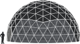 Dome tent sizes - 11m