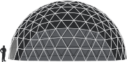 Dome tent sizes - 14m