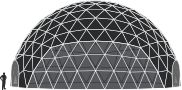 Dome tent sizes - 19m
