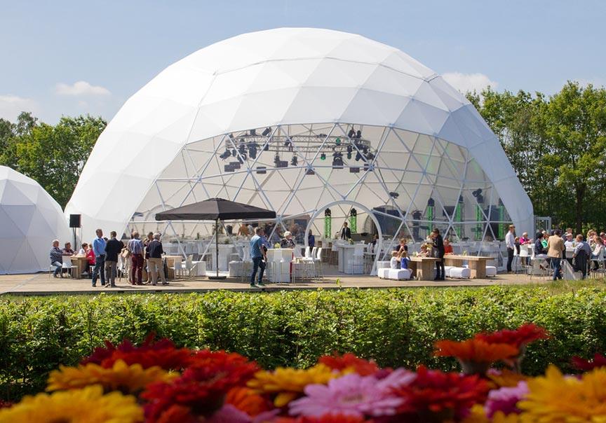 Dome tent formaten - 22m