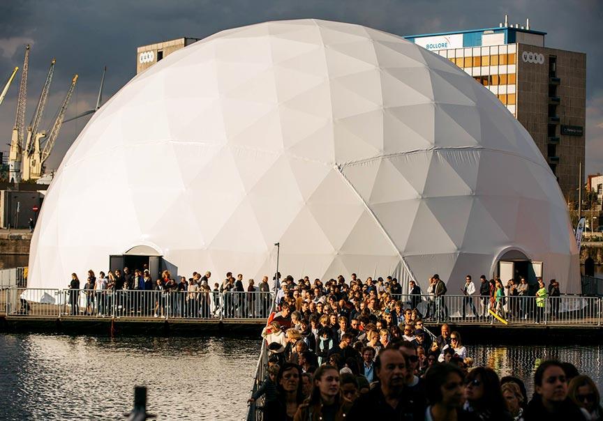 Dome tent formaten - 27m