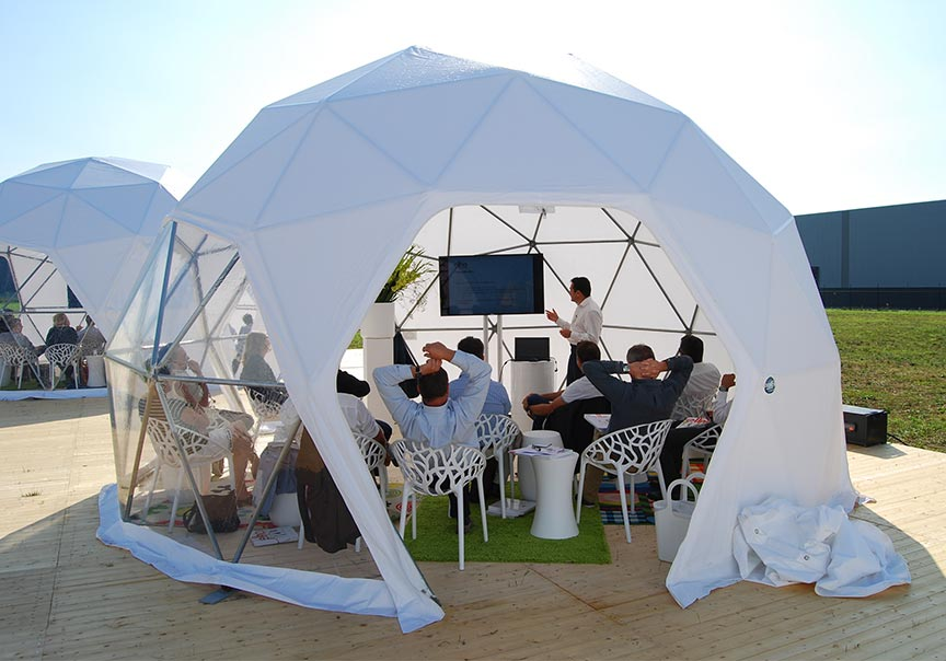Dome tent sizes - 6m