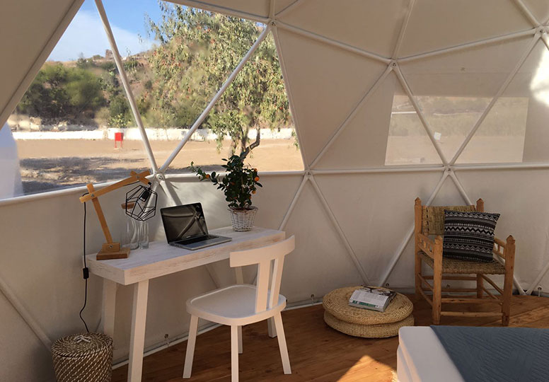 Glamping dome - Voorbeeld dome 1