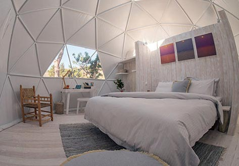 Glamping dome - Optionele extra's