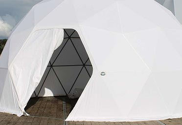 Dome tent options - Dome doors 2