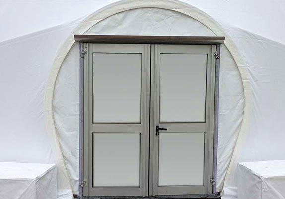 Opties dome tent - Dome deuren 4