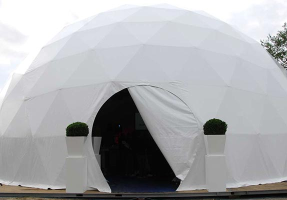 Dome tent options - Dome doors 5