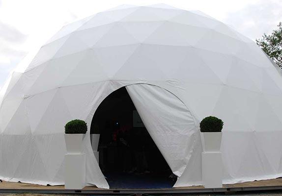 Opties dome tent - Dome deuren 5