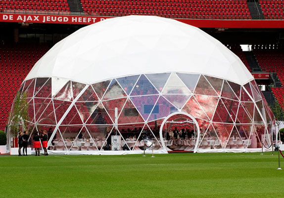 Dome tent options - Panorama view window