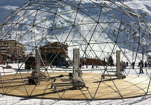 Opties dome tent - Optionele extra's